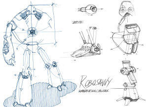 Robosavvy Humanoid Design Challenge
