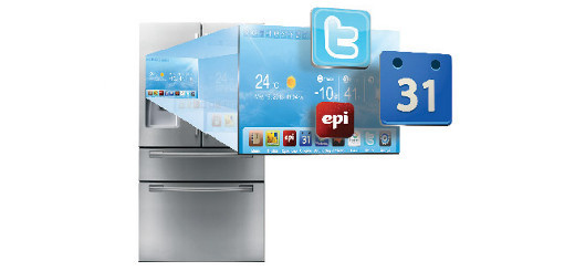 Samsung Fridge LCD